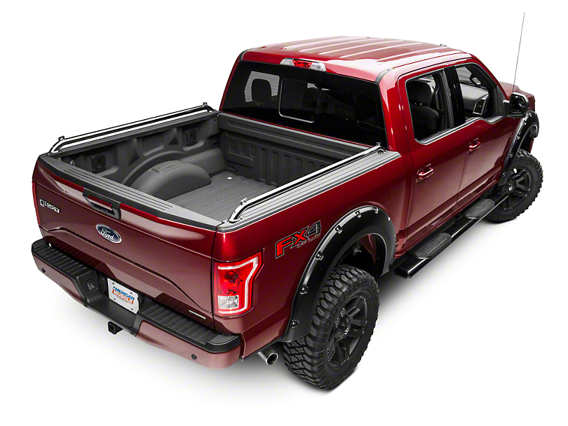 Pop Up Locker Side Rails - Stainless (15-19 F-150)