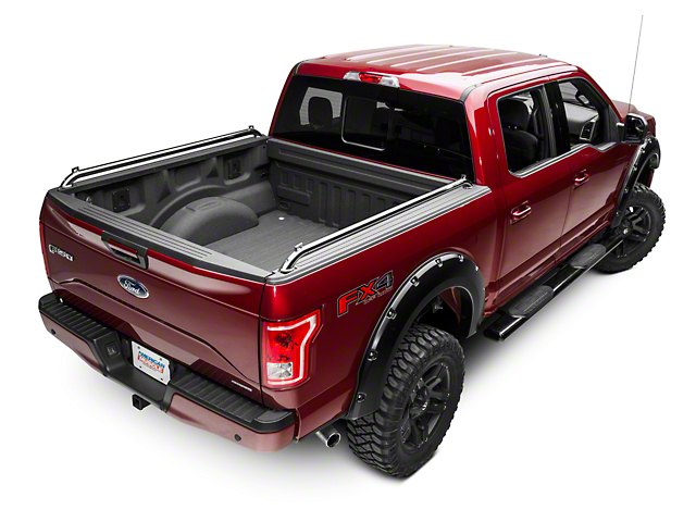 Putco Pop Up Locker Side Rails - Stainless (15-18 F-150)