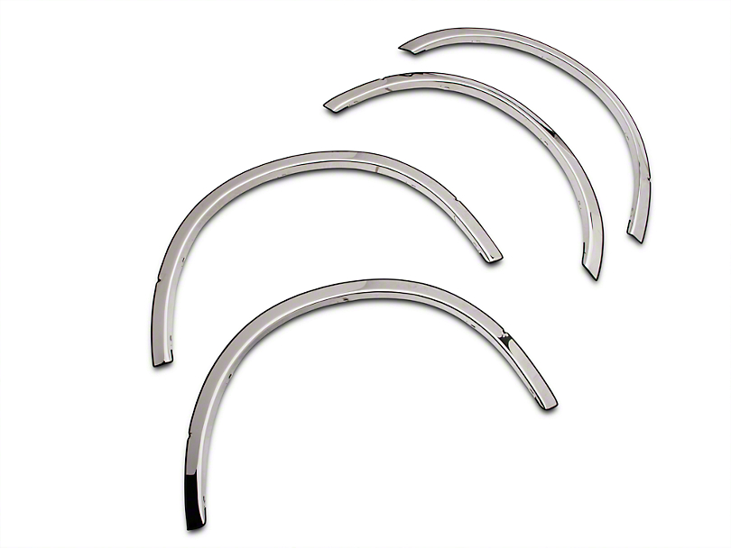 Putco Stainless Steel Fender Trim (15-17 All, Excluding Raptor)