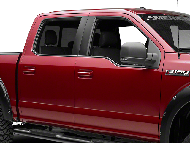Putco ABS Window Trim - Black (15-18 All)