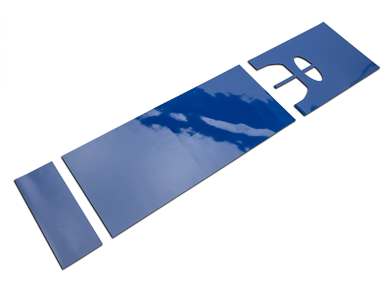 American Muscle Graphics Blue Full Length Stripes - 10-1/4 in. (15-18 All)