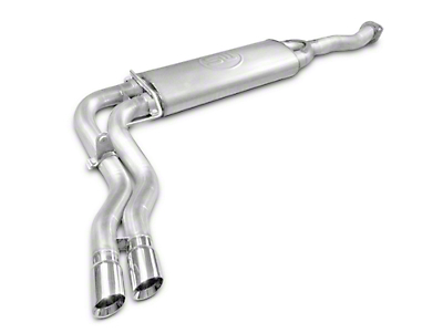 Stainless Works Cat-Back Exhaust - Dual Mid-Side Exit - Factory Connect (15-17 5.0L)