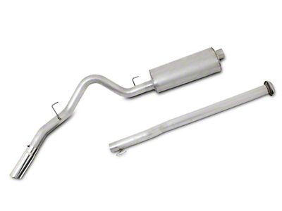 Gibson 3 in. Single Stainless Cat-Back Exhaust System - Single Side Exit (15-17 3.5L EcoBoost, Excluding Raptor)