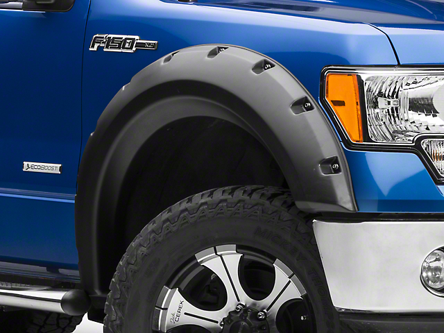 Rugged Ridge Fender Flares - Textured Black (09-14 Styleside, Excluding Raptor)