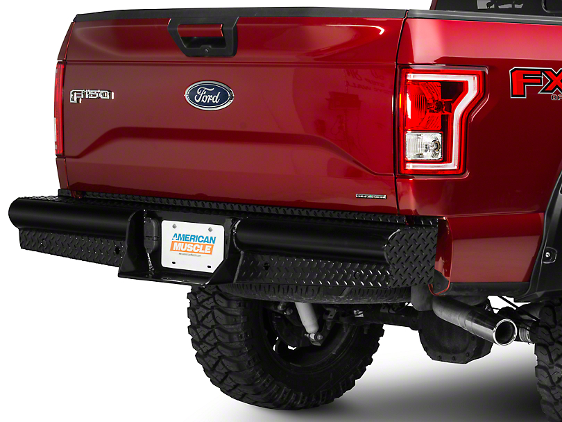 Steel Craft HD Replacement Rear Bumper (15-18 F-150, Excluding Raptor)