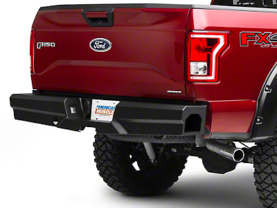 Steel Craft HD Elevation Rear Bumper (15-18 F-150, Excluding Raptor)