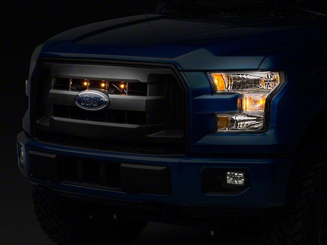 Raptor Style XL Grille Light Kit - Plug-and-Play (15-17 F-150 XL, XLT)
