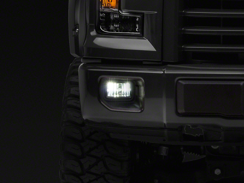 Raxiom 1400 Lumen LED Fog Light Conversion Kit - H10 (99-18 F-150, Excluding 02-03 Harley Davidson)