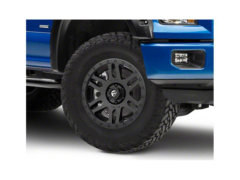 Fuel Wheels Recoil Matte Black 6-Lug Wheel - 20x9 (04-17 All)