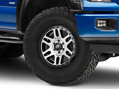 Fuel Wheels Recoil Black Machined 6-Lug Wheel - 18x9 (04-18 F-150)
