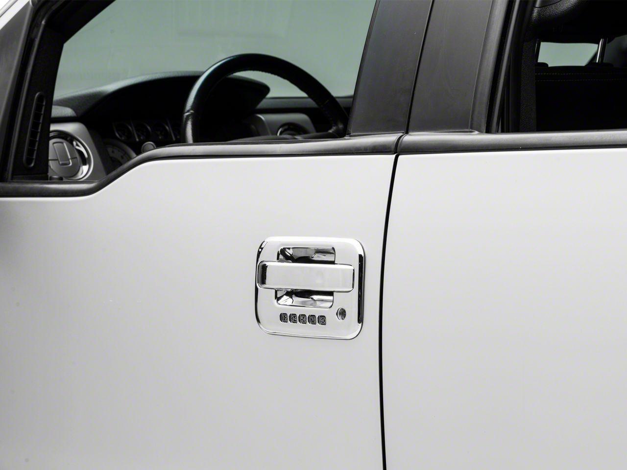 Door Handle Covers - Chrome ABS (04-14 F-150 SuperCrew)