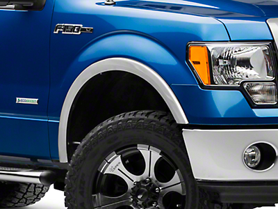 X-Fender Flares - Stainless Steel (09-14 F-150 Styleside, Excluding Raptor)
