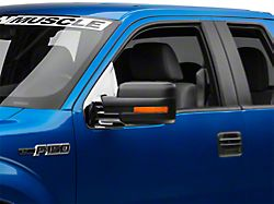 Chrome Side Mirror Base Covers (09-14 F-150 w/o Tow Mirrors)