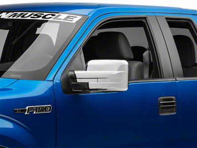 Chrome Side Mirror Covers (09-14 F-150 w/o Tow Mirrors)