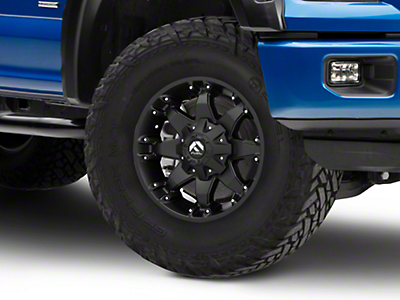 Fuel Wheels Octane Matte Black 6-Lug Wheel - 17x8.5 (04-18 F-150)