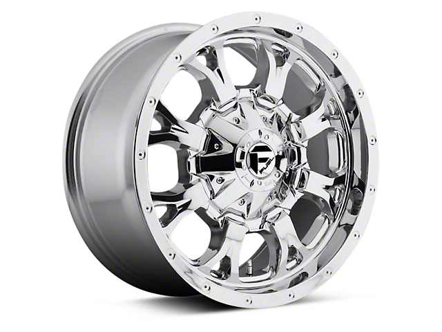 Fuel Wheels Krank Chrome 6-Lug Wheel - 17x9 (04-17 All)