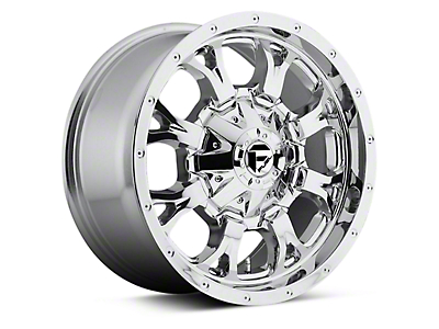 Fuel Wheels Krank Chrome 6-Lug Wheel - 17x9 (04-18 F-150)