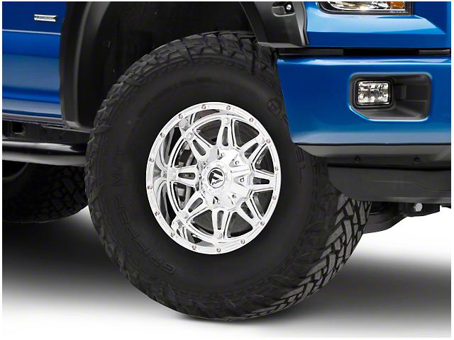 Fuel Wheels Hostage Chrome 6-Lug Wheel - 17x9 (04-18 F-150)