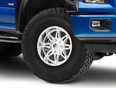 Fuel Wheels Hostage Chrome 6-Lug Wheel - 17x9 (04-17 All)