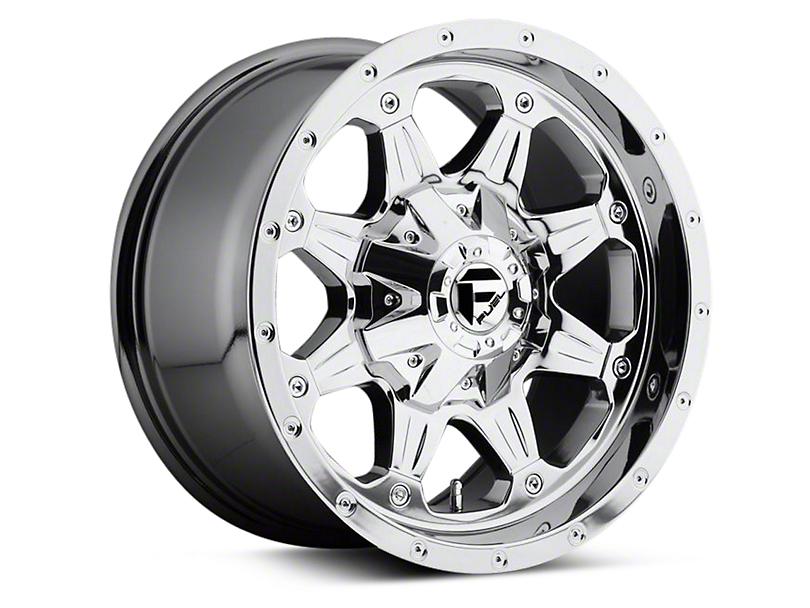 Fuel Wheels Boost Chrome 6-Lug Wheel - 17x9 (04-18 All)