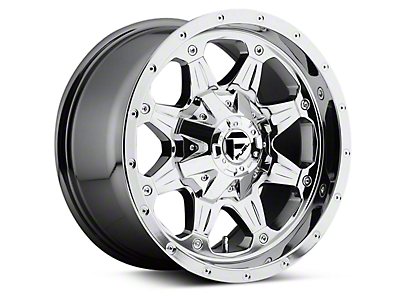 Fuel Wheels Boost Chrome 6-Lug Wheel - 17x9 (04-17 All)