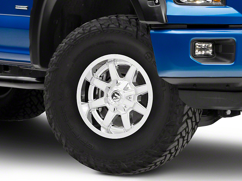 Fuel Wheels Maverick Chrome 6-Lug Wheel - 17x9 (04-18 F-150)