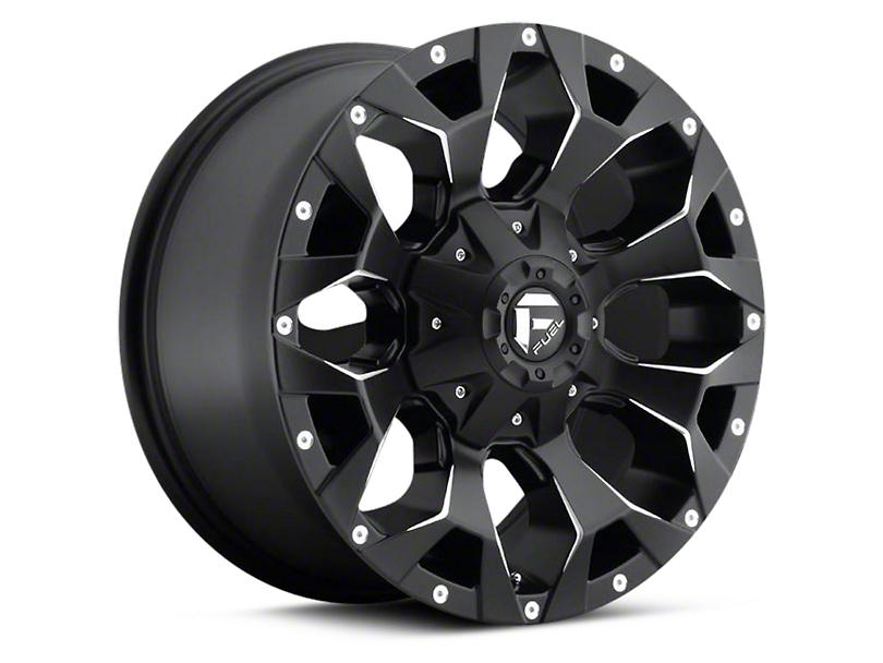 Fuel Wheels Assault Black Milled 6-Lug Wheel - 17x8.5 (04-17 All)