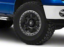 Fuel Wheels Trophy Matte Black with Anthracite Ring 6-Lug Wheel; 17x8.5; 6mm Offset (09-14 F-150)
