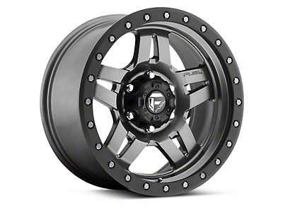Fuel Wheels ANZA Matte Anthracite w/ Black Ring 6-Lug Wheel - 17x8.5 (04-17 All)
