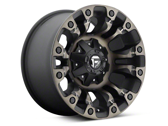 Fuel Wheels Vapor Black Machined 6-Lug Wheel - 17x9 (04-18 F-150)
