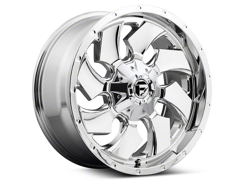 Fuel Wheels Cleaver Chrome 6-Lug Wheel - 17x9 (04-17 All)