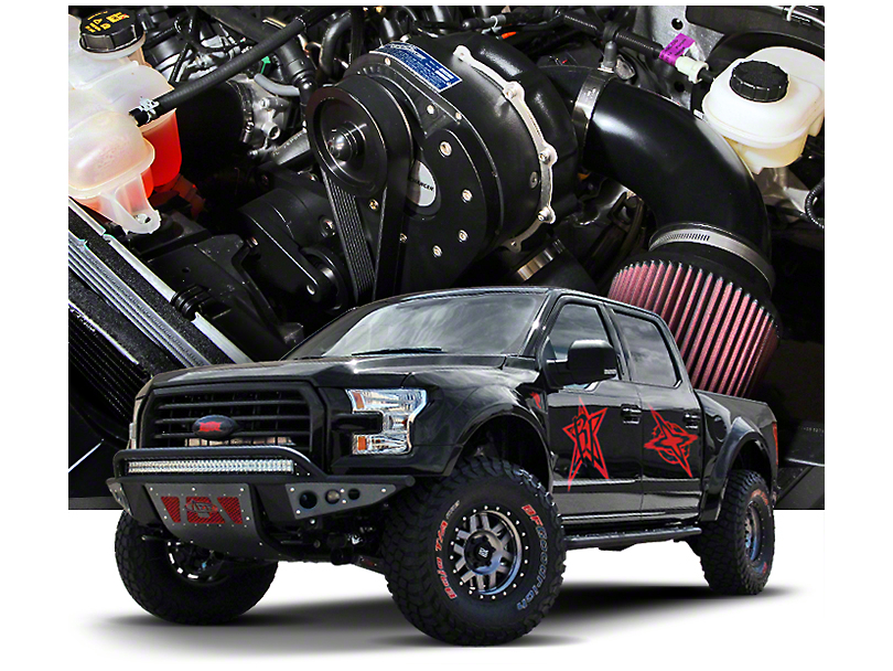 Procharger High Output Intercooled Supercharger Tuner Kit w/ P-1SC-1 (15-17 5.0L F-150)