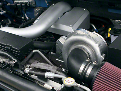 Procharger High Output Intercooled Superchager System w/ P-1SC-1 - Tuner Kit (04-08 5.4L F-150)