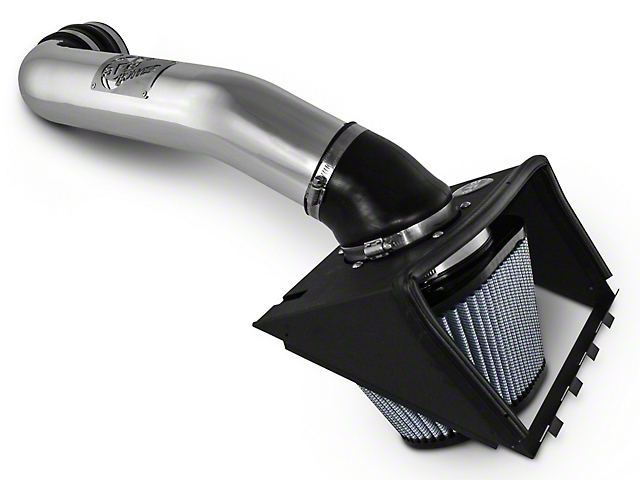AFE Magnum Force Stage 2 Pro 5R Cold Air Intake - Polished (11-14 5.0L)