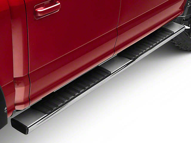 Westin R7 Running Boards - Stainless Steel (15-19 F-150 SuperCab, SuperCrew)