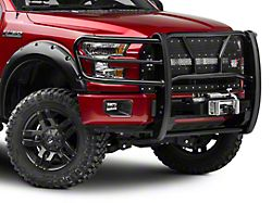 Westin HDX Winch Mount Grille Guard - Black (15-19 F-150, Excluding Raptor)
