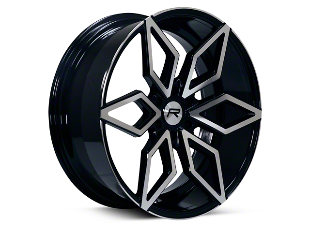 Rovos Kimberley Black Machined 6-Lug Wheel - 24x10; 25mm Offset (09-14 F-150)