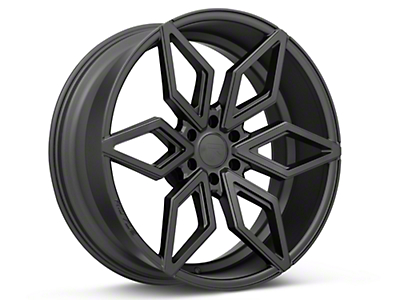 Rovos Satin Black Kimberley 6-Lug Wheel - 24x10 (04-17 All)