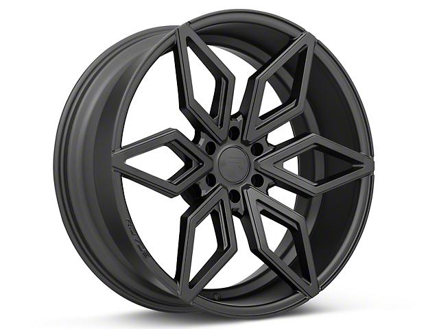 Rovos Kimberley Satin Black 6-Lug Wheel; 24x10; 25mm Offset (04-08 F-150)