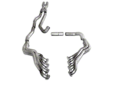 Stainless Works 1-3/4 in. Headers w/ Off-Road X-Pipe - Performance Connect (09-10 5.4L F-150, Excluding Raptor)