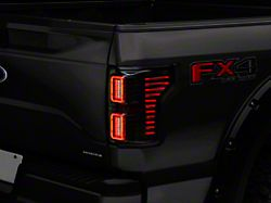 Raxiom Horizon LED Tail Lights - Smoked (15-19 F-150 w/o BLIS)