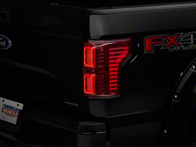 Add Raxiom Horizon LED Tail Lights - Clear/Red (15-17 w/o BLIS)