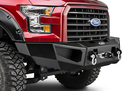 Heavy Duty Base Winch Front Bumper (15-17 All, Excluding Raptor)