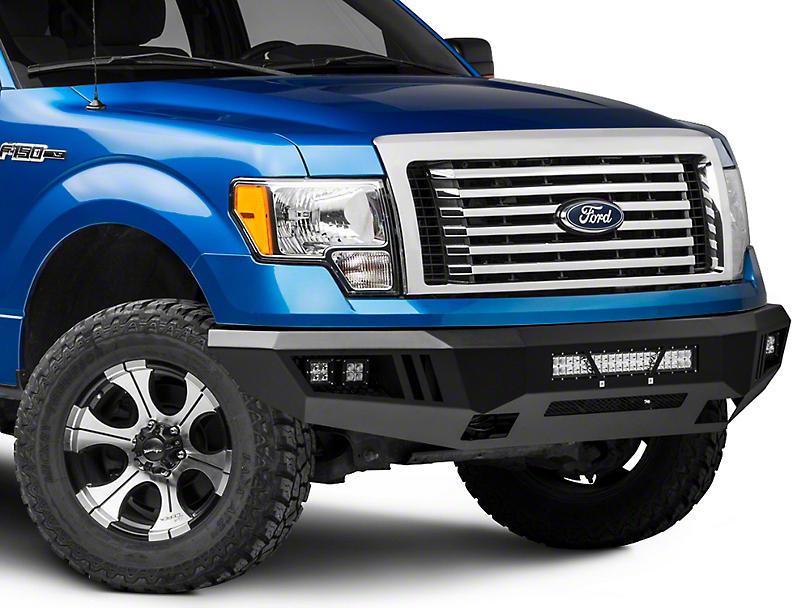 Barricade Extreme HD Front Bumper w/ LED Light Bar, Fog & Spot Lights (09-14 All, Excluding Raptor)