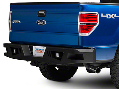 Barricade Extreme HD Rear Bumper w/ LED Fog Lights (06-14 F-150)