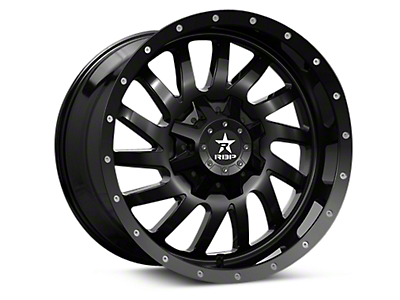 RBP Uzi Gloss Black 6-Lug Wheel - 20x9 (04-17 All)