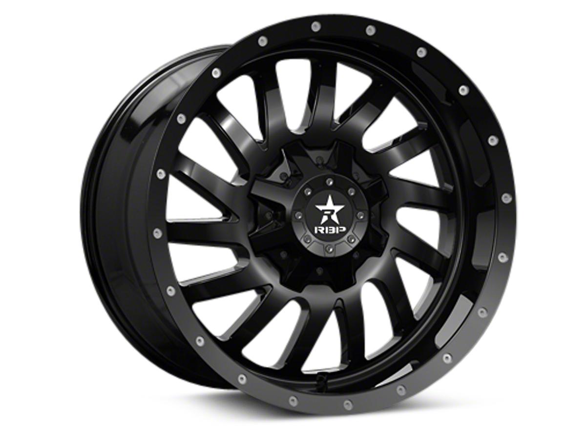 RBP 78R Uzi Gloss Black 6-Lug Wheel - 20x9 (04-18 All)