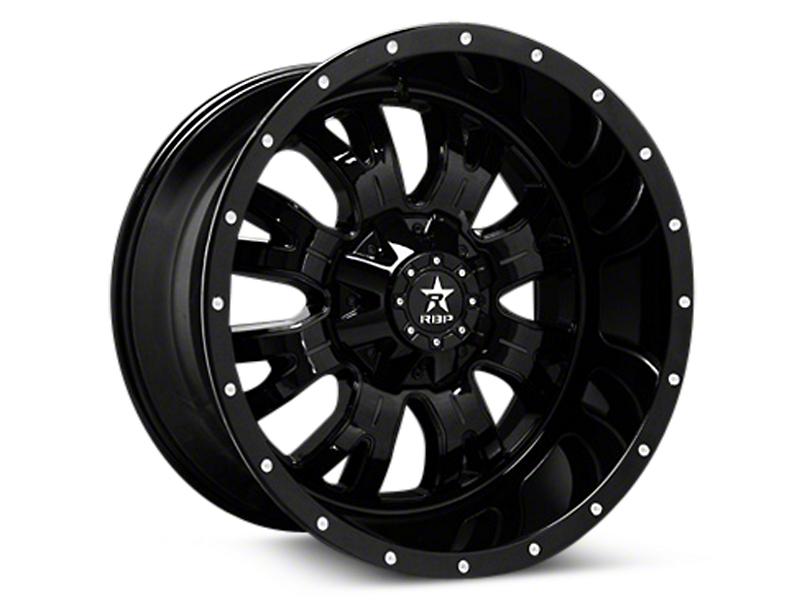RBP Assassin Gloss Black Machined 6-Lug Wheel - 18x9 (04-18 All)