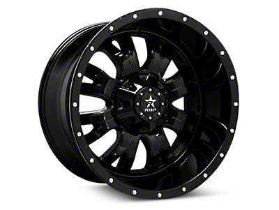 RBP Assassin Gloss Black Machined 6-Lug Wheel - 18x9 (04-18 All)