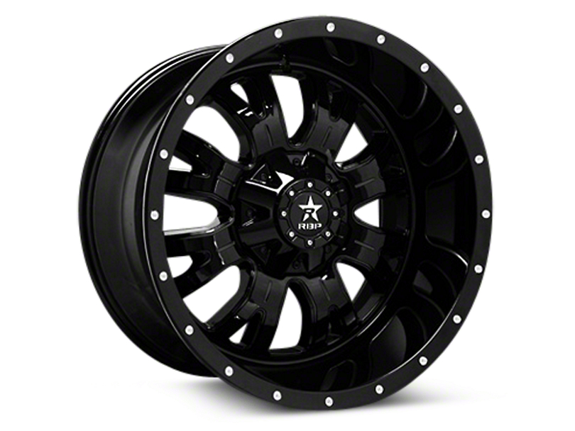 RBP Assassin Gloss Black Machined 6-Lug Wheel - 20x9 (04-18 All)